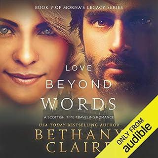 Page de couverture de Love Beyond Words: A Scottish Time Travel Romance