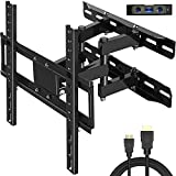 Everstone TV Wall Mount Fit for Most 26'-60' TVs Heavy Duty Dual Arm Articulating Full...