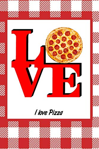 I Love Pizza: Picnic Food Writing Journal