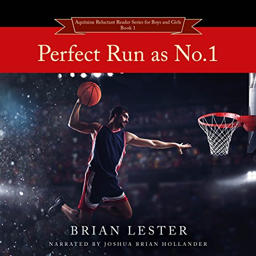 Perfect Run as No.1 audiobook cover art
