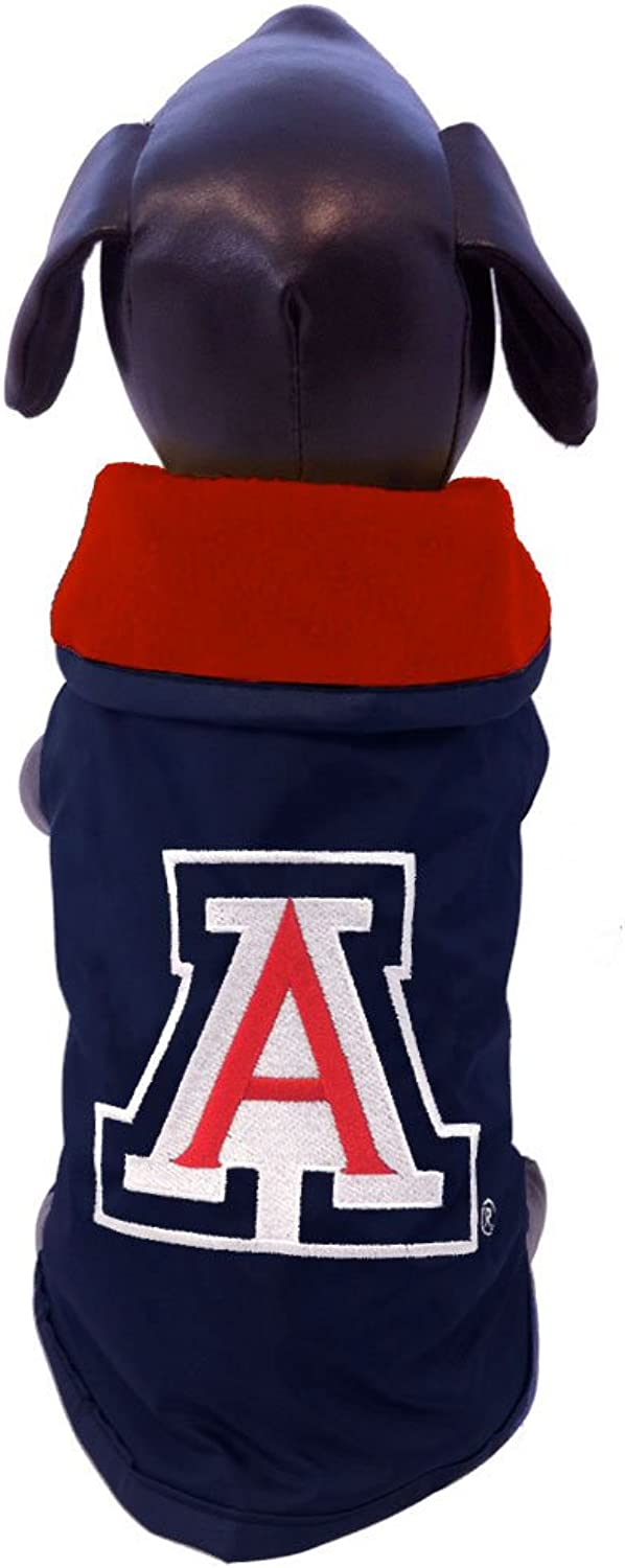 All Star Dogs Arizona Wildcats All WeatherResistant Predective Dog Outerwear, XLarge