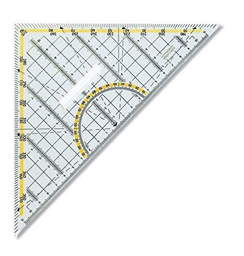 Geodreieck mit Haltegriff 22 cm