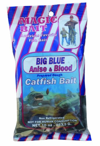 Magic Big Blue Dough Anise and Blood Fishing Scent Bag, 10-Ounce