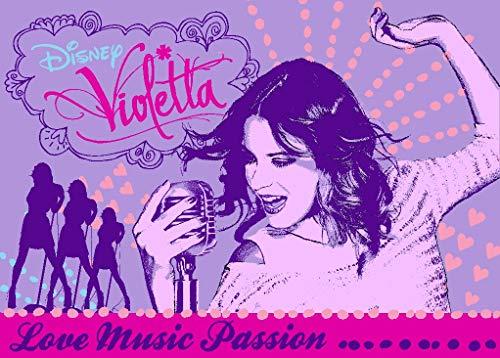 Associated Weavers 620415 Violetta - Tappeto Decorativo, in Poliammide, 133 x 2 x 95 cm, Colore: Viola