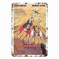 うるさい女たち(1987)壁の金属映画のポスターレトロなプラークの警告ブリキの看板ヴィンテージ鉄の絵画の装飾カフェオフィスンリビングルームのアート装飾18x12インチ