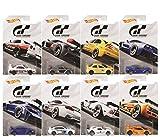 Conjunto de surtido Hot Wheels Gran Turismo 2018 Playstation 8 Modelos 1:64 FKF26