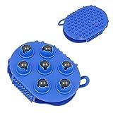 Guante de masaje con 7 ruedas de 360 grados, 13х10 сm