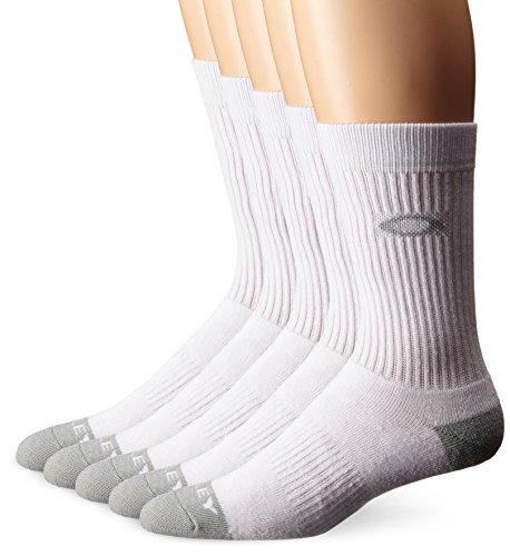 Oakley Performance 5Paar Socken Small/Medium weiß - weiß