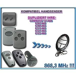 Marantec-D302-868-Marantec-D304-868-Marantec-D313-868-Marantec-D321-868-Marantec-D323-868-Marantec-Command-131-8683MHz-compatible-emisor-manual-Repuestos-klone-Clone-Remote-Control