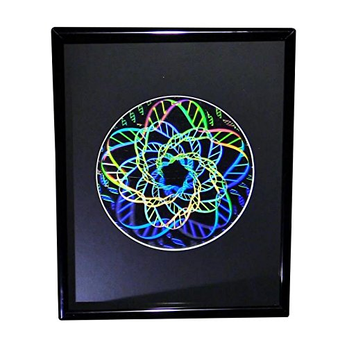 Review Of DNA Multi-Layer 2D3D Hologram Picture(FRAMED), Collectible Embossed Type Film