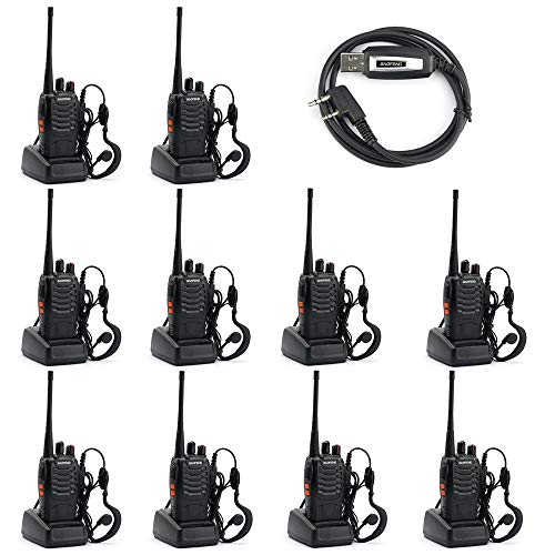 Baofeng BF-888S Two Way Radio (Pack of 10) and USB Programming Cable (1PC). Buy it now for 96.99