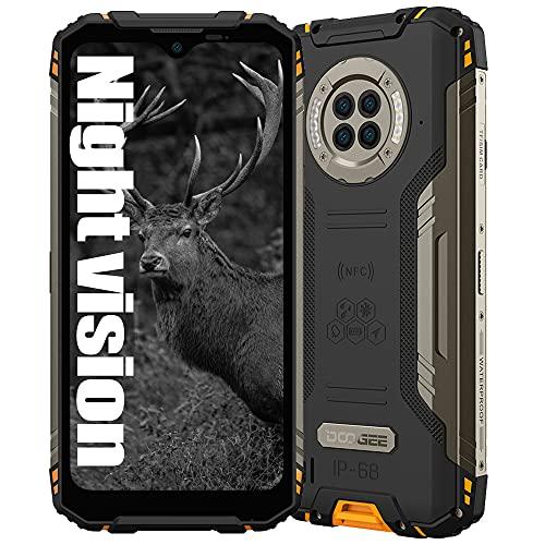 Smartphone resistente con visión nocturna por infrarrojos DOOGEE S96 PRO, Helio G90 8GB+ 128GB, Cámara 48MP (Infrarrojos 20MP) + 16MP, Teléfono móvil resistente IP68 6.22',...
