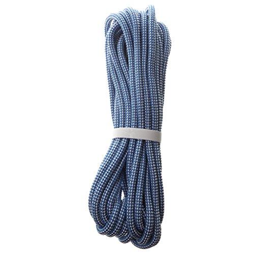 Sharplace Kletterseile Sicherheitsseil Allzweckseil 8 mm. in verschiedenen Längen - Blau, 10m