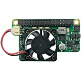 15W POE Module for Raspberry Pi 4/Pi 3 b+/cm3/cm3+/cm4 Compatible with IEEE 802.3at/802.3af Peak current 3.5A Fan Speed can be controlled BY I2C