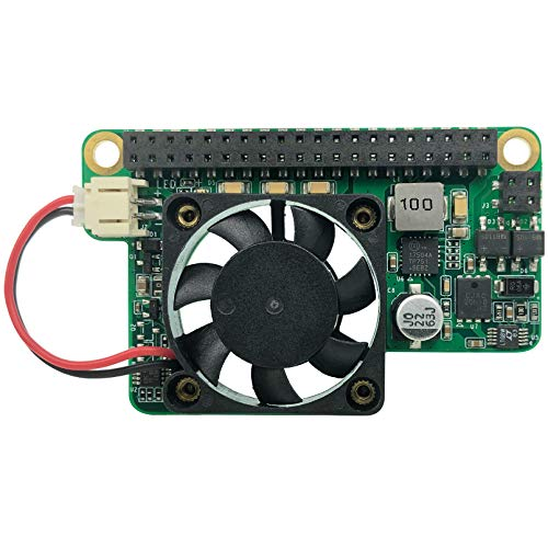 innomaker 15W Poe Module for Raspberry Pi 4/Pi 3 b+/cm3/cm3+/cm4 Compatible with IEEE 802.3at/802.3af Peak Current 3.5A Fan Speed Can be Controlled BY I2C