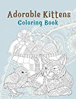 Adorable Kittens - Coloring Book