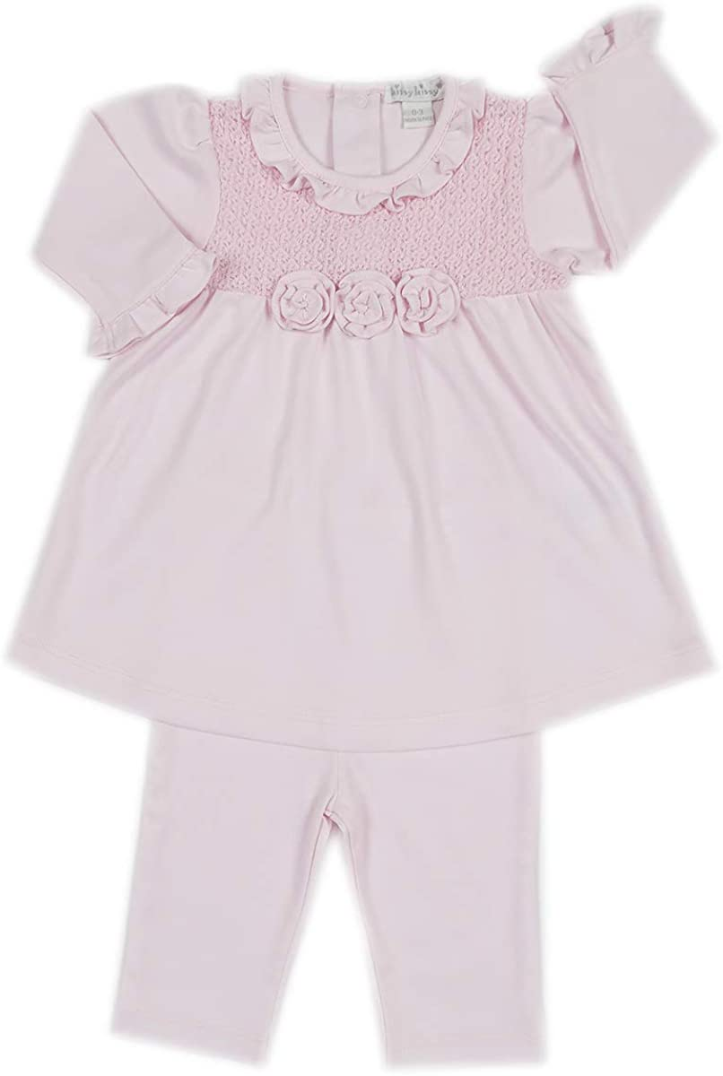 Sale special price Kissy At the price of surprise Baby Girls Tranquility Dress Legging - with Pink