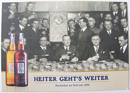 Borbecker Brauhaus - 30 Jahre Dampfe - Postkarte - Motiv 1