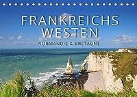 Frankreichs Westen - Normandie und Bretagne (Tischkalender 2022 DIN A5 quer): Highlights und Geheimtipps in der Normandie und der Bretagne (Monatskalender, 14 Seiten )