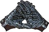 adidas Youth Adizero 5-Star 8.0 Three Stripe Life Receiver Glove (Black/Black, Small)