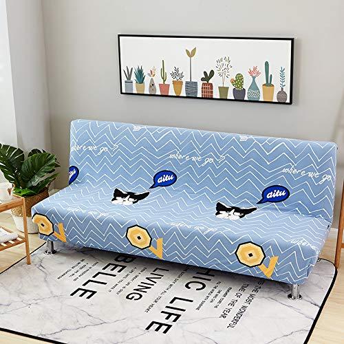 RKZM Vier seizoenen universele uitklapbare slaapbank zonder armleuning elastische bank set all-inclusive bank kussen sofa cover sofa handdoek