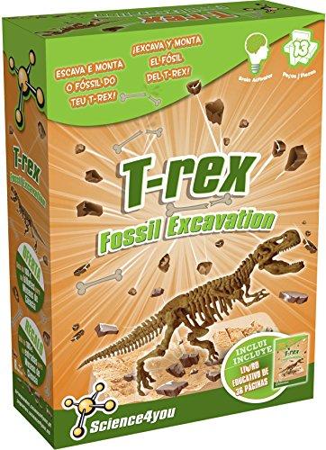 Science4you 602397 -Excavaciones T-Rex, Juguete Educativo y científico