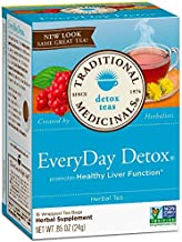 Traditional Medicinals Tea Everyday Detox-16 bags net wt- .85 oz