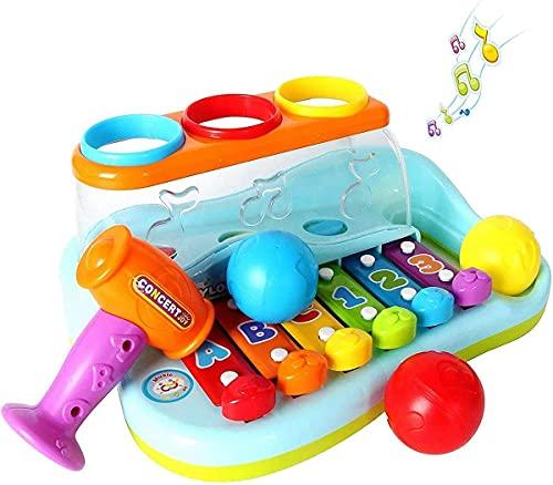 IGO GLOBAL Pound rouleau de martelage bébé jouets...