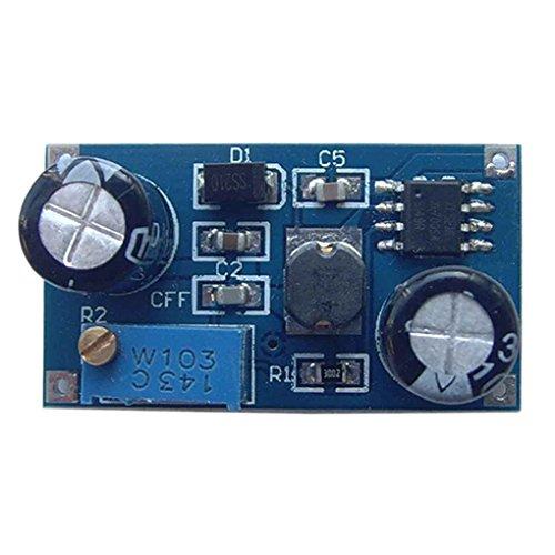 Uzinb Módulo de Potencia DC-DC de reducción de Voltaje del estabilizador del Voltaje del módulo 5V-80V Entrada del convertidor de Corriente Continua Bajada