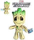MRVL Guardians of The Galaxy - Plüsch Groot 33cm Qualità Super Soft