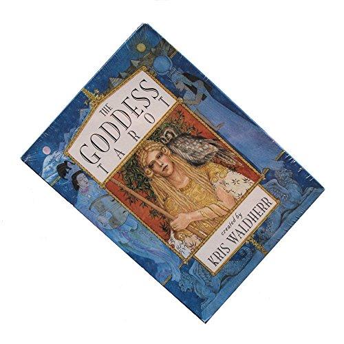 The Goddess Tarot von Kris Waldherr, 78 Tarotkarten mit Englische Anweisungen (Standard)