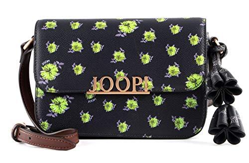 Joop! cortina mille fiori uma Schultertasche xshf Farbe darkgrey Blumen Flowers Logo