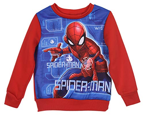 Spiderman Niños Sudadera