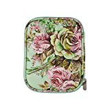 Exceart Knitting Needles Case Travel Organizer Storage Bag for Circular Needles and Other Accessories