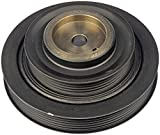 Dorman 594-279 6-1/8' Double Serpentine Harmonic Balancer , Black