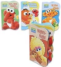 Sesame Street Beginnings Board Books (Set of 4)