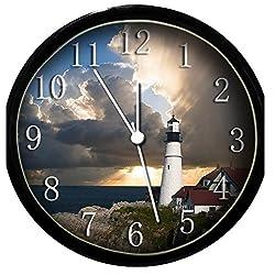 Krazy Klockz Glow in The Dark Wall Clock - Lighthouse #3