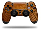 WraptorSkinz Skin compatible with Sony PS4 Dualshock Controller PlayStation 4 Original Slim and Pro Wood Grain - Oak 01 (CONTROLLER NOT INCLUDED)