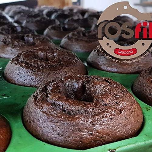 Rosquilla Tipo Donut Saludable Siempre Tiernas Donnut - Bolleria Artesanal 100% Original Alto en Proteinas Sin Colesterol - Fitness Healthy (NARANJA, 21 uni): Amazon.es: Alimentación y bebidas