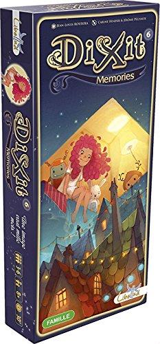 Asmodee - Dixit 6 Memories Brettspiel italienische Edition, Farbe, 8010