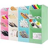 4Pcs lapiceros para escritorio,Organizador de escritorio,compartimentos Soporte para bolígrafo,Soporte para bolígrafo de Escritorio,Portalápices Multifuncional,Organizador de Pluma (A) (A-grande)