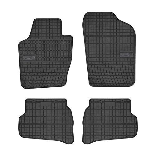 Bottari 39705 Set de 4 tapis de sol sur mesure en caoutchouc pour Volkswagen Polo 2009 - ….
