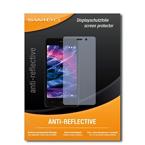 SWIDO Schutzfolie für Medion Life E4504 [2 Stück] Anti-Reflex MATT Entspiegelnd, Hoher Festigkeitgrad, Schutz vor Kratzer/Bildschirmschutz, Bildschirmschutzfolie, Panzerglas-Folie