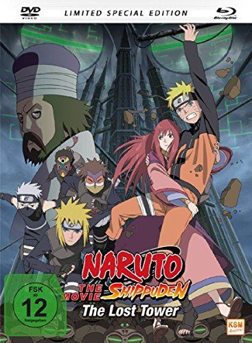 Naruto Shippuden - The Lost Tower - The Movie 4 - Special Edition - Mediabook, limitiert auf 1.500 Stück [Blu-ray]