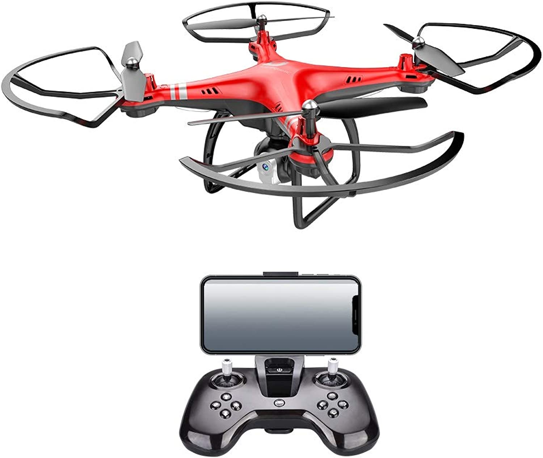 el mas de moda X8 Alto Alto Alto Rendimiento WiFi FPV Drone Endurance 18 Minutos 360 Grados de altitud de balanceo Cámara 480P   720P HD, Quadcopter Drone con Control de altitud ( Color   rojo , Talla   720P Camera )  gran descuento