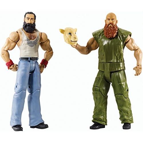 Luke Harper & Erick Rowan Confezione Battle Pack Lottatori di Wrestling Serie 31 - Disponibili in Stock