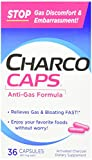 Charcocaps Anti-Gas Dietary Supplement Formula 36...