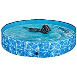 SCIROKKO Foldable Dog Swimming Pool