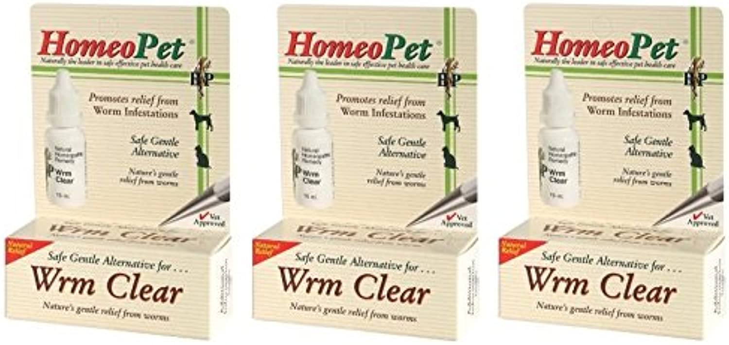 HomeoPet Worm Clear (Pack of 3)