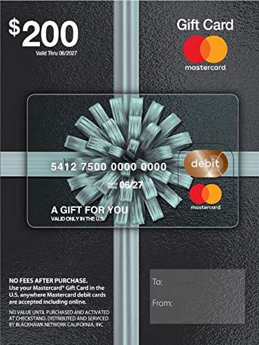$200 Mastercard Gift Card (plus ...